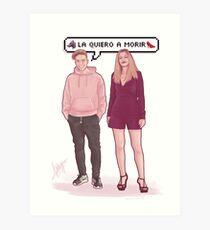 Raoul & Mireya - OT2017 Art Print