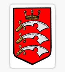 Coat of Arms of Middlesex county, England Sticker