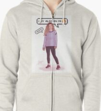 There's Something In Me - Miriam 3 Zipped Hoodie