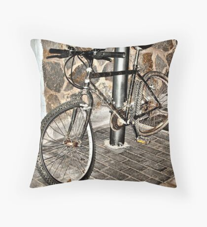 Buckled Throw Pillow