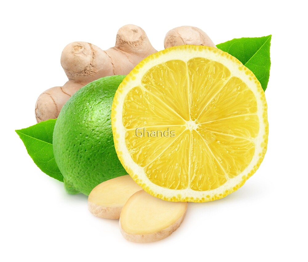 Lime, lemon and ginger by 6hands