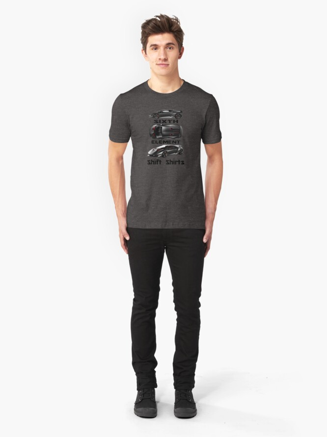 Alternate view of Shift Shirts Sixth Element – Sesto Elemento Inspired Slim Fit T-Shirt
