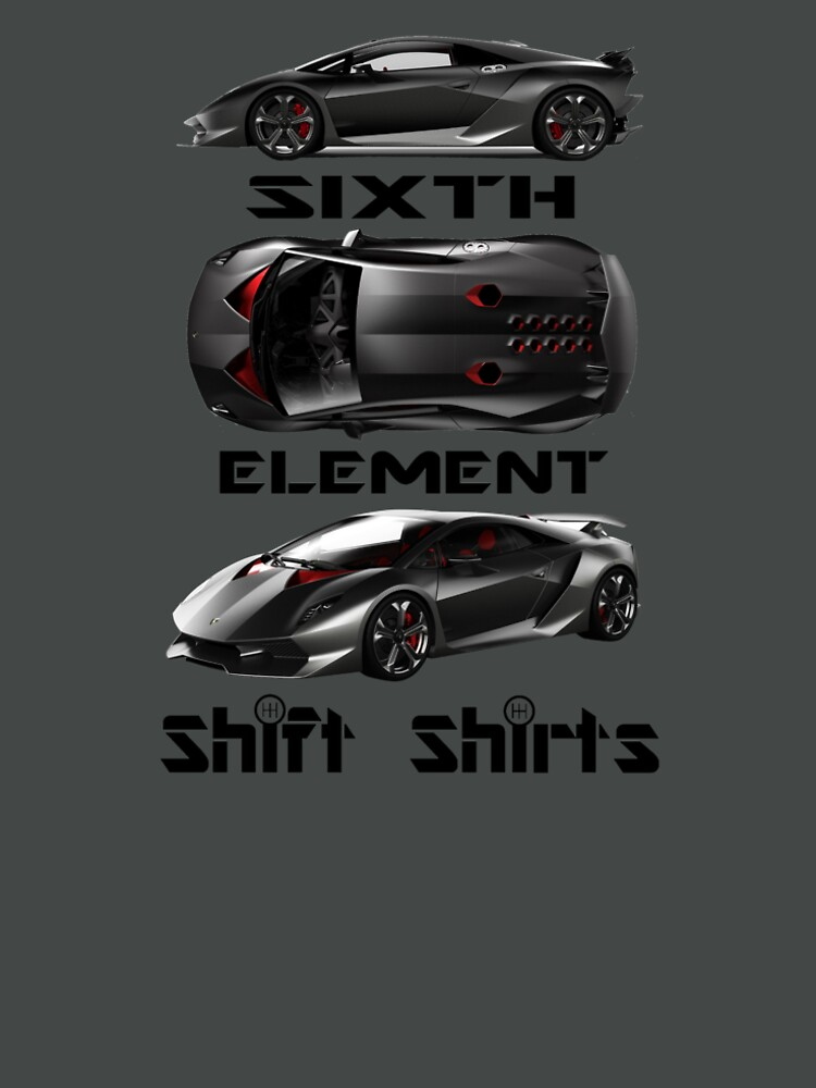 Shift Shirts Sixth Element – Sesto Elemento Inspired by ShiftShirts