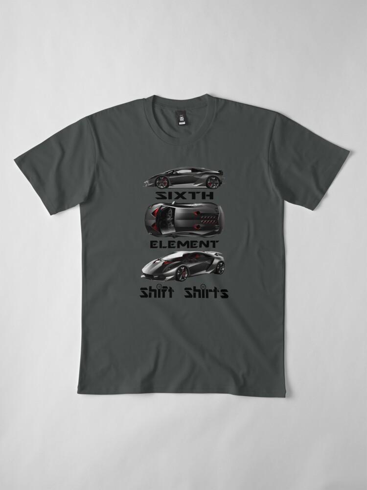 Alternate view of Shift Shirts Sixth Element – Sesto Elemento Inspired Premium T-Shirt
