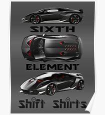 Lamborghini Sesto Elemento Posters Redbubble