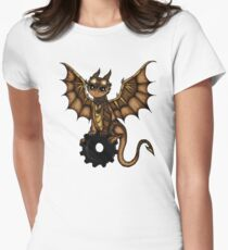 Steampunk Dragon Women's Fitted T-Shirt