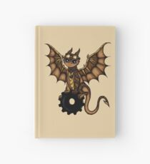 Steampunk Dragon Hardcover Journal