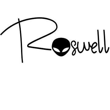 Roswell New Mexico Area 51 Alien by srnrvs