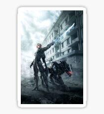 Metal Gear Rising Raiden & Bladewolf Sticker