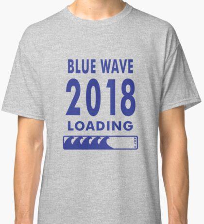 Blue Wave 2018 Loading Classic T-Shirt