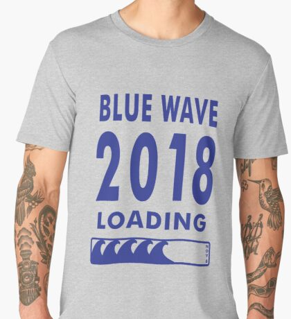 Blue Wave 2018 Loading Men's Premium T-Shirt