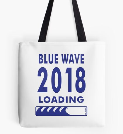 Blue Wave 2018 Loading Tote Bag