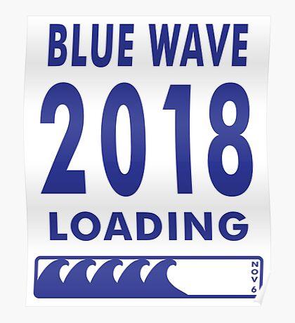 Blue Wave 2018 Loading Poster