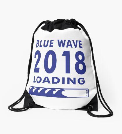 Blue Wave 2018 Loading Drawstring Bag