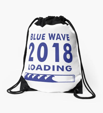 Blue Wave 2018 Loading Drawstring Bag