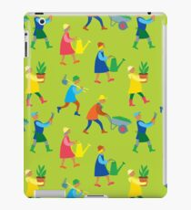 Gardeners pattern iPad Case/Skin