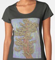 Lone Crooked Pine Tree Women's Premium T-Shirt