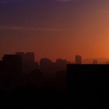 LA Sunset by GaryCuningham