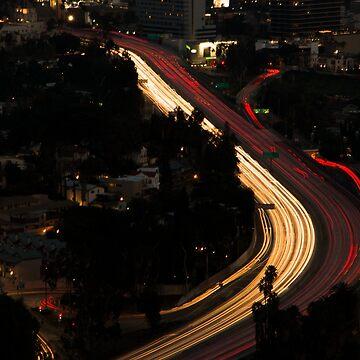 LA Traffic by GaryCuningham