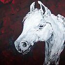 Arabian Stallion - Breed Portrait by TamiParrington