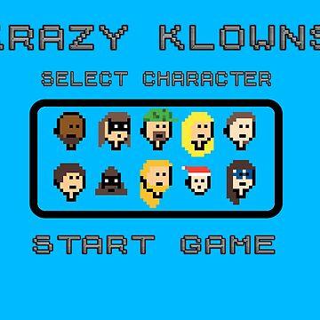 Krazy Klowns (8-Bit Game) by KrazyKlowns