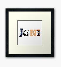 Joni Joan Anderson Mitchell  Framed Print