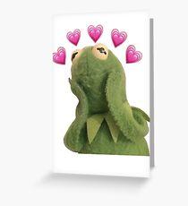 Kermit Meme Greeting Card