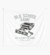 Vintage Video Game Console Wall Tapestry