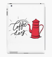 National Coffee Day iPad Case/Skin