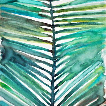 palm leaf by colleendavis72