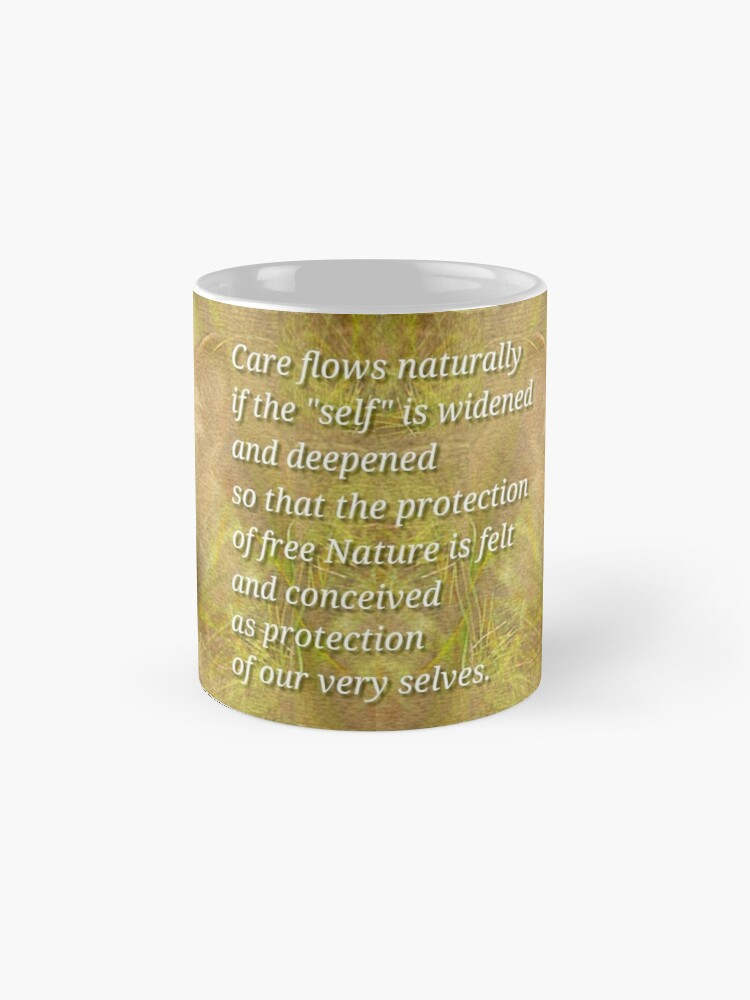 Alternate view of Protect Nature Classic Mug