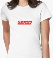 Colgate supreme Women's Fitted T-Shirt