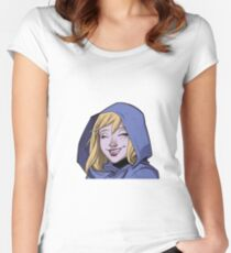 Smiling Steph Women's Fitted Scoop T-Shirt