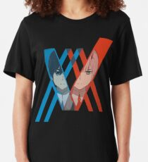 Darling in the FranXX  Slim Fit T-Shirt