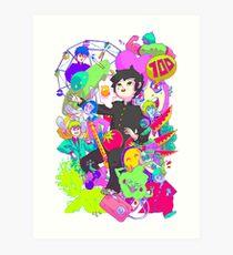MOB Art Print