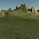 Hill and Rock by dmark3