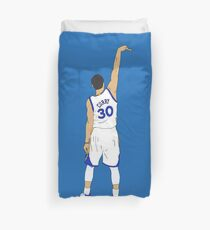 "Stephen Curry ""Hold It"" Duvet Cover"