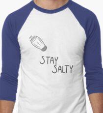 Stay Salty POTs Awareness Men's Baseball ¾ T-Shirt