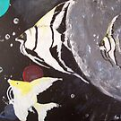 Space Angel Fish by TamiParrington
