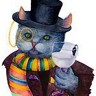 Happy Meow Sir by Oleksandra Poplinska