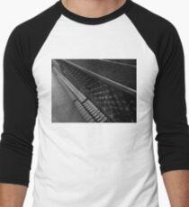 Piano Strings  Men's Baseball ¾ T-Shirt