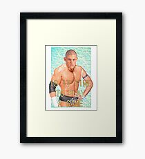 ContraBRAND Wrestling - Play a Game Framed Print