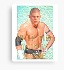 ContraBRAND Wrestling - Play a Game Canvas Print