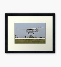 Cessna 172 Landing Framed Print