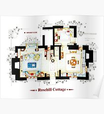 Rosehill Cottage from THE HOLIDAY - Ground floor Poster