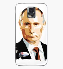 I Voted Vladimir Putin with Sticker Graphic Case/Skin for Samsung Galaxy