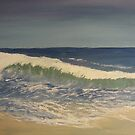 Summer Wave by TamiParrington