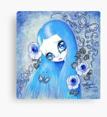Goth Girl: Christine Canvas Print