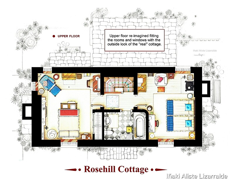 "rosehill cottage from the holiday - upper floor b""iñaki aliste"