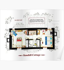 Rosehill Cottage from THE HOLIDAY - Upper floor B Poster